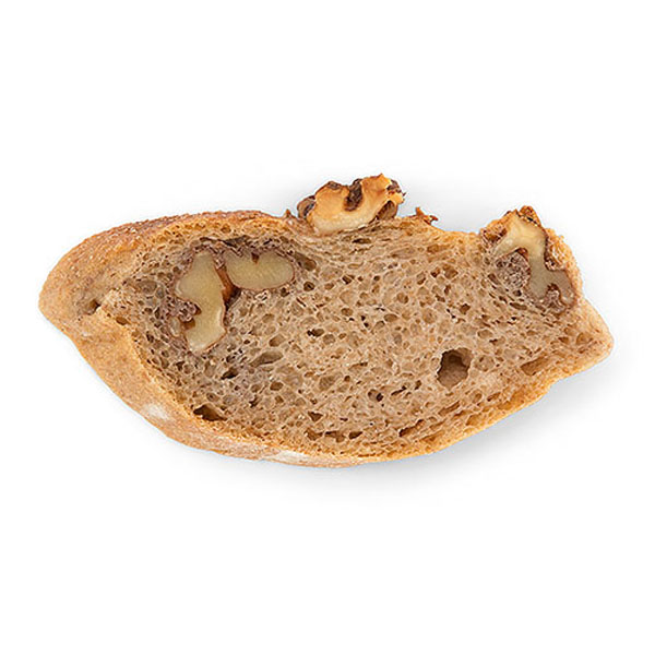 sc17 walnussbaguette scheibe - Brot