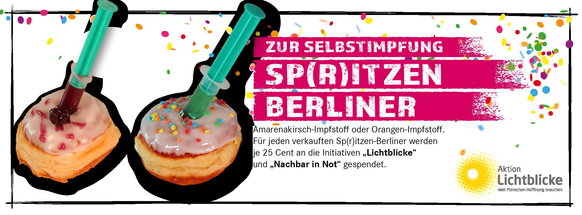 BERLINER21 7 - Die zuckersüße Impfdosis für den guten Zweck ist da!